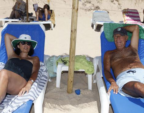 Rita Amaral Cabral e Marcelo Rebelo de Sousa