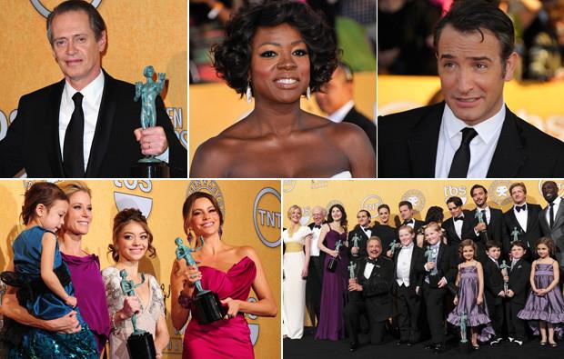 Os vencedores dos Screen Actors Guild Awards 2012.jpg