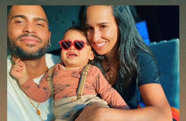 Filho de Rita Pereira joga basquetebol com o pai em vídeo divertido